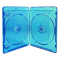 Optimum Blu-Ray 2 Disc DVD Case 20 Pack Blue