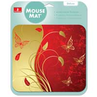 Handstands Royal Butterfly Mouse Pad