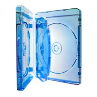 Optimum Blu-Ray 4 Disc DVD Case 5 Pack Blue