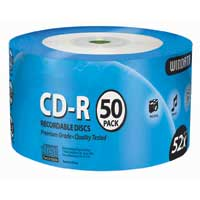 Windata CD-R 52x Discs 50-Pack