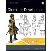 Cengage Learning CHARACTER DEV BLENDER 2.5