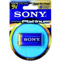 Sony 9V Alkaline Battery Single Pack
