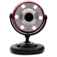 Gear Head Quick 5.0 MP WebCam with 720P HD Video