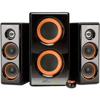 Eagle Technologies Eagle Arion ET-AR506-BK 2.1 Soundstage Speakers with Dual Subwoofers