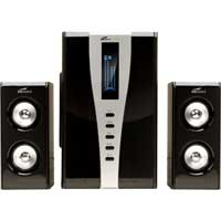 Eagle Technologies Eagle Arion ET-AR508LR-BK 2.1 Soundstage Speakers w/Subwoofer & Remote