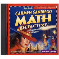 PC Treasures Carmen Sandiego Math Detective (PC/Mac)