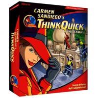 PC Treasures Carmen Sandiego Think Quick Challenge (PC/Mac)