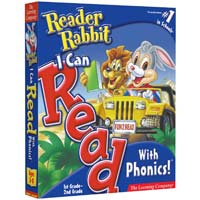 PC Treasures Reader Rabbit 'I Can Read with Phonics' (PC)