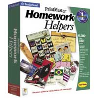PC Treasures Print Master: Homework Helpers (PC)