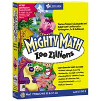 PC Treasures Mighty Math: Zoo Zillions (PC/Mac)