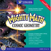 PC Treasures Mighty Math Cosmic Geometry (PC/Mac)