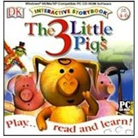 PC Treasures 3 Little Pigs Interactive Storybook (PC/Mac)