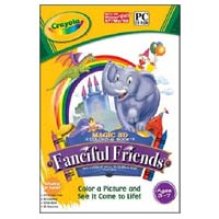 PC Treasures Crayola Fanciful Friends Children's Software (PC)