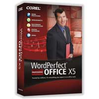 Corel WordPerfect Office X5 Professional - Upgrade Version
