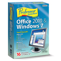 Individual Software Professor Teaches Office 2010 & Windows 7 (PC)