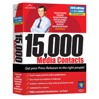 SummitSoft 15,000 Media Contacts (PC)