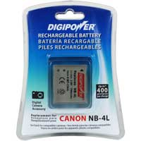 Digipower Digipower BP-CN4L Replacement Li-Ion Battery for Canon NB-4L