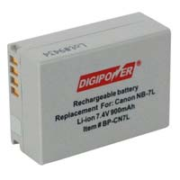 Digipower BP-CN7L Replacement Li-Ion Battery for Canon NB-7L