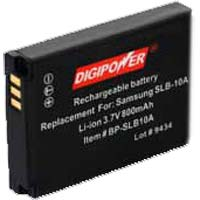 Digipower BP-OL50B Replacement Li-Ion Battery for Olympus Li-50B