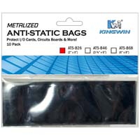 Kingwin 2 X 6 Anti-static bags (10 pack)