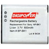 Digipower Replacement Li-Ion Battery for Sony NP-BK1