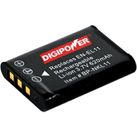 Digipower BP-NKL11 Replacement Li-Ion Battery for Nikon EN-EL11