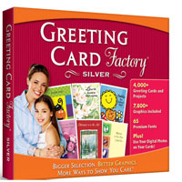 Nova Development Greeting Card Factory Silver