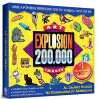 Nova Development Art Explosion 200,000 Images