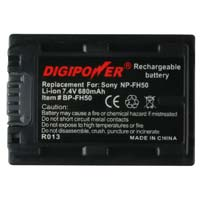 Digipower Replacement Li-Ion Battery for Sony NP-FH50