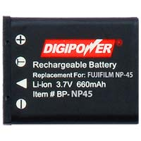 Digipower BP-NP45 Replacement Li-Ion Battery for Fuji NP-45