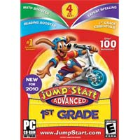 Knowledge Adventure Jumpstart Advanced 1st Grade V3.0 (Win)