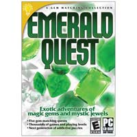 On Hand Software Brain Games: Emerald Quest (PC)