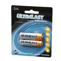Ultralast AA Alkaline Battery 2 Pack
