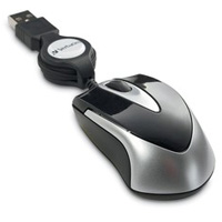 Verbatim Optical Travel Mouse Black