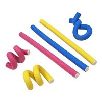 "Urashima Taro 7"" Flexi Ties Yellow/Pink/Blue 6 Pack"