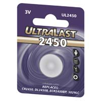 Ultralast CR2450 Replacement Battery