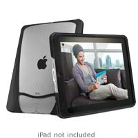 iSkin Inc Vu Slim-Fitting iPad Protective Cover - Puma (Black)
