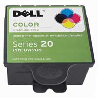 Dell Series 20 Standard Capacity Color Ink Cartridge