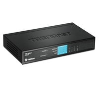 Trendnet TPE-S44 8-Port Fast Ethernet Switch with Power Over Ethernet (PoE)