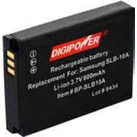 Digipower Replacement Li-Ion Battery for Casio NP-50, NP50
