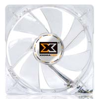 Xigmatek CLF-F1255 Crystal Series 120mm LED Crystal Purple LED Case Fan