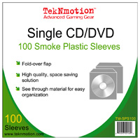 TekNMotion CD Sleeves (100 Pack)