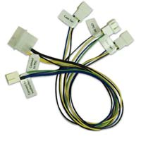 Akasa Akasa PWM 3-way Splitter - Smart Fan Cable