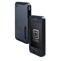 Incipio Technologies SILICRYLIC for iPhone 4 Black