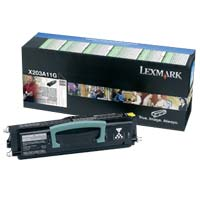Lexmark X203A11G Return Program Black Toner Cartridge