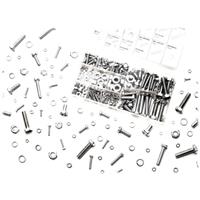 Performance Tools 240 Piece Zinc Metric Nuts & Bolts Assortment