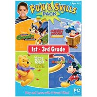 Encore Software Disney Fun & Skills 1st - 3rd Grade 2011 (PC)