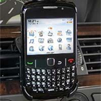 Bracketron BlackBerry Curve Hip-Kicker with Rotating Air Vent Mount