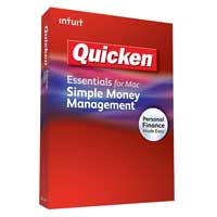 Intuit Quicken Essentials for Mac 2010