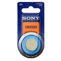 Sony Lithium Coin Battery Size CR2025